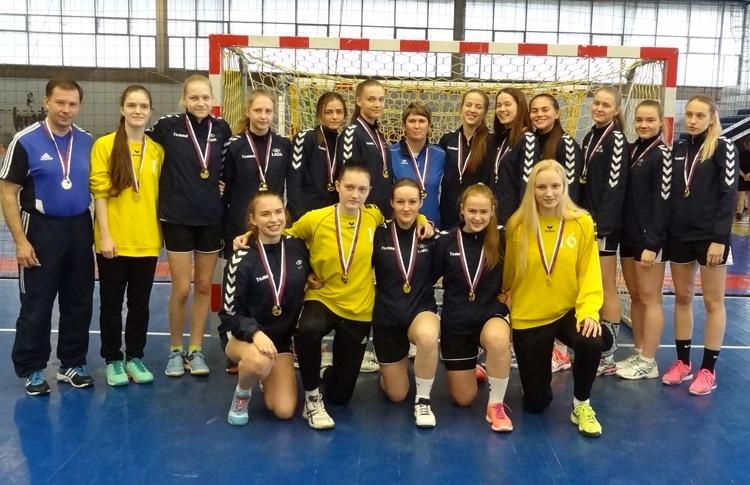 Команда тольяттинских девушек 2000 г.р. - чемпион России 2017 года