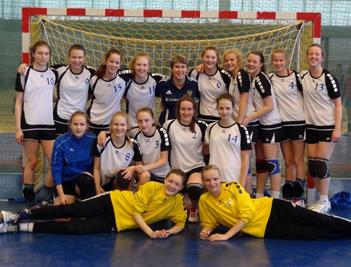 Команда девушек 2000 г.р. - 3-кратный чемпион страны