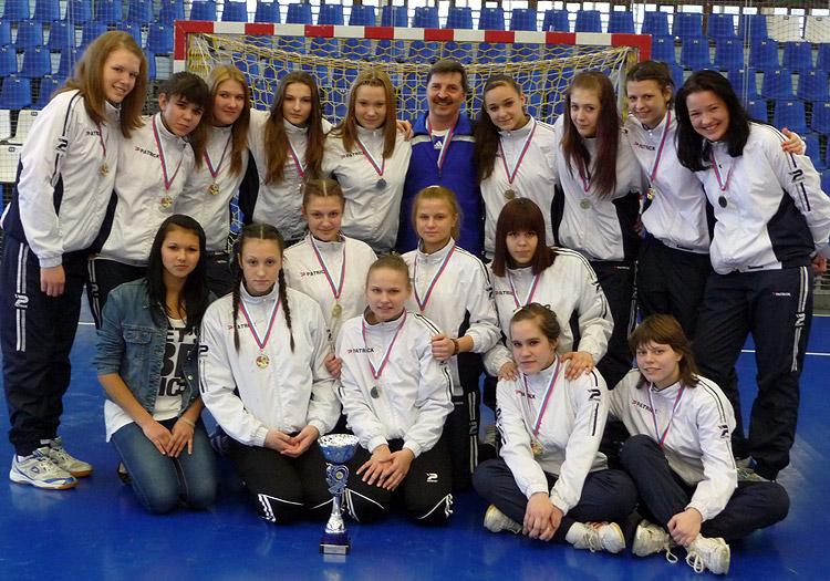 Команда девушек 1997 г.р. - чемпион России 2012 года